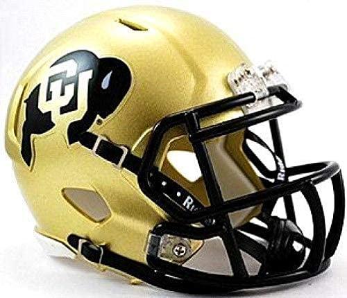 Colorado Buffaloes Riddell Speed Mini Football Helmet - College Mini Helmets