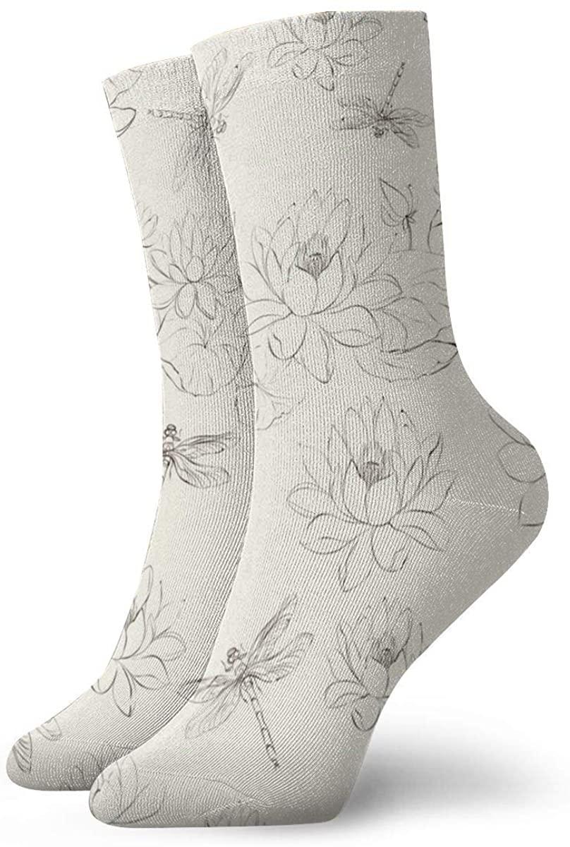 Game Life Crew Socks Lotus Men Women Sock Casual Socks