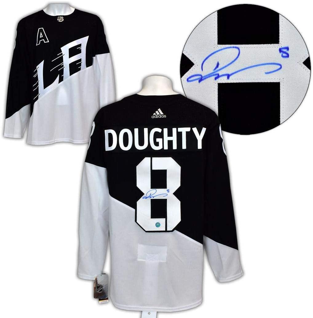 Autographed Drew Doughty Jersey - 2020 Stadium Series Adidas - Autographed NHL Jerseys
