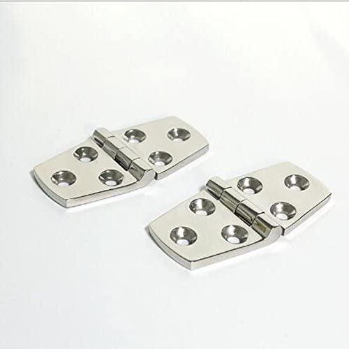 316 stainless steel polishing hinge yacht hardware fittings Marine hinge76 mmx38mm (2 PCS/package)