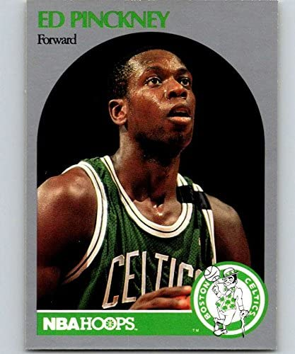 1990-91 Hoops #47 Ed Pinckney Celtics NBA Basketball
