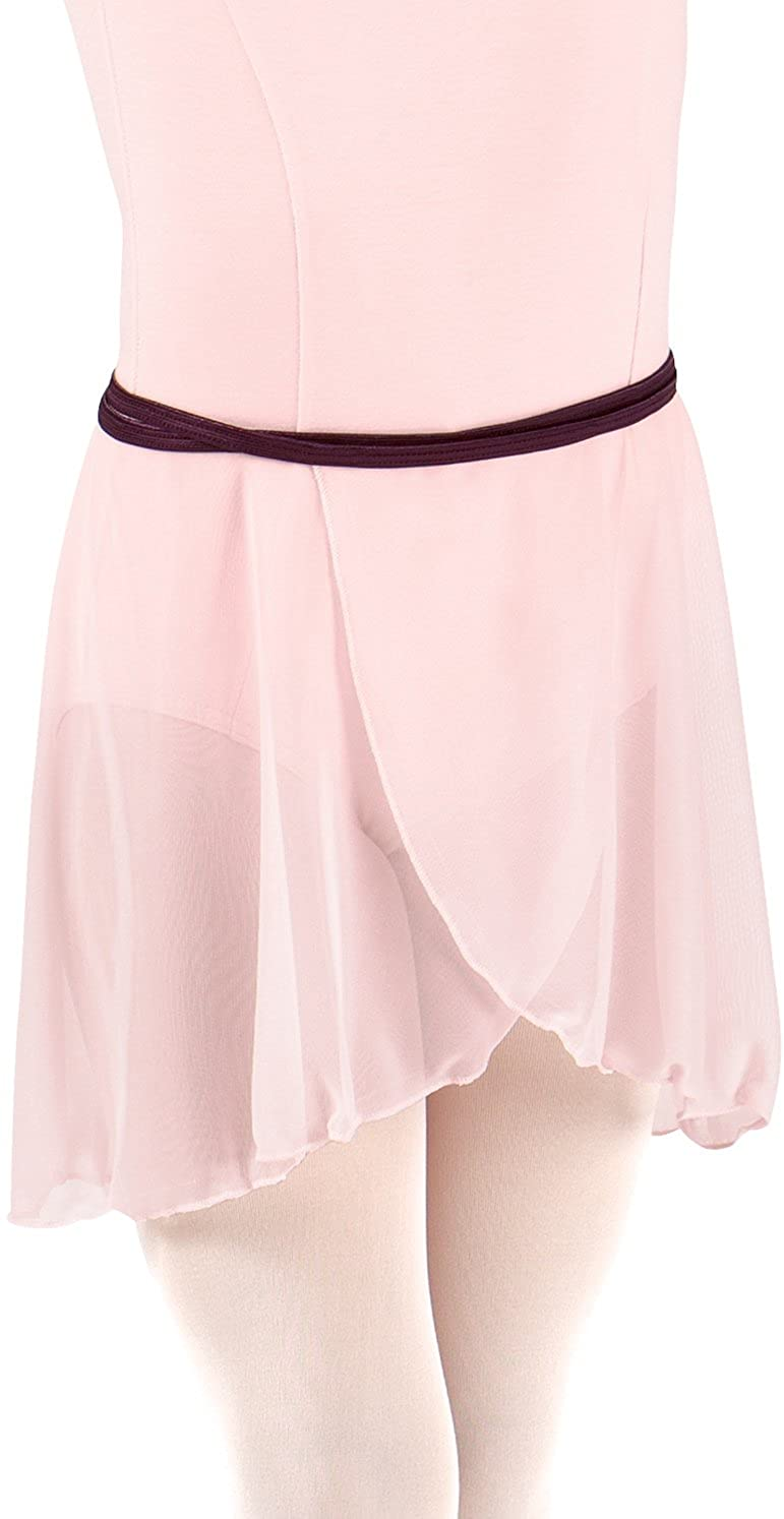 Body Wrappers Side-Dip Chiffon Skirt (BW1100)