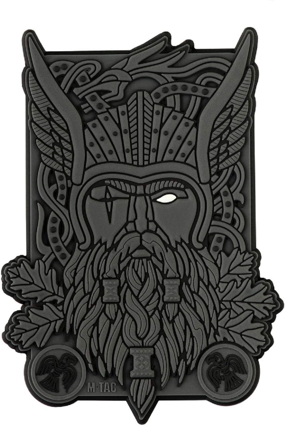 M-Tac Tactical Morale Patch Odin Viking War God 3D PVC