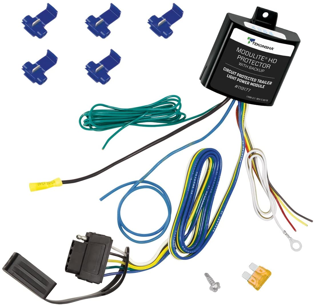 Tekonsha 119177 ModuLite HD Protector with Integrated Circuit and Overload Protection