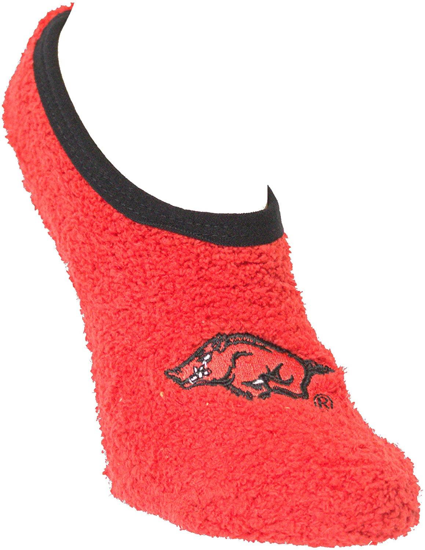 Arkansas Razorbacks Non-Skid Slipper Socks