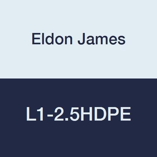 Eldon James L1-2.5HDPE High Density Polyethylene Threaded Elbow, 1/16-27 NPT Thread to 5/32