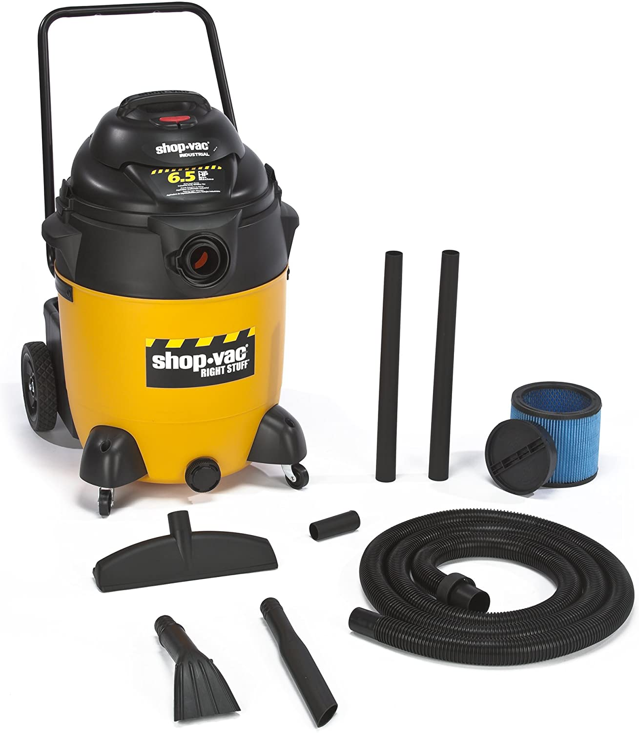 Shop-Vac 9626010 6.5-Peak Horsepower Right Stuff Wet/Dry Vacuum, 24-Gallon