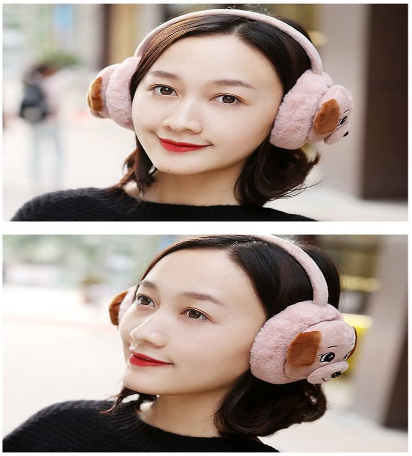 MQHY 2017 Earmuffs Cute Cartoon Ear Muffs Autumn and Winter Keep Warm Plush Earmuffs Fashion Series Earmuffs for Girl and Women Upscale Ear Cover