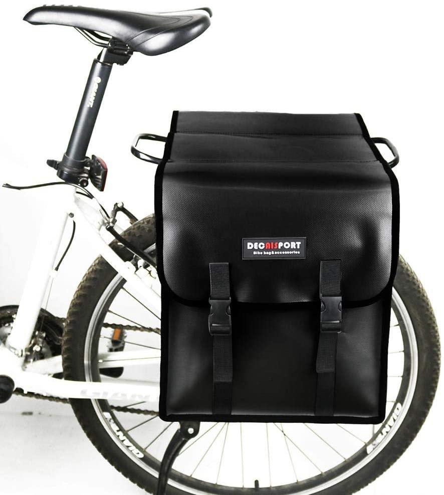 signmeili Waterproof Bike Pannier Bag Bicycle Cargo Rack Pannier,Large Capacity Bike Rear Seat Trunk Bag Bicycle Pannier Trunk Bicycle Professional Cycling Accessories 353214cm