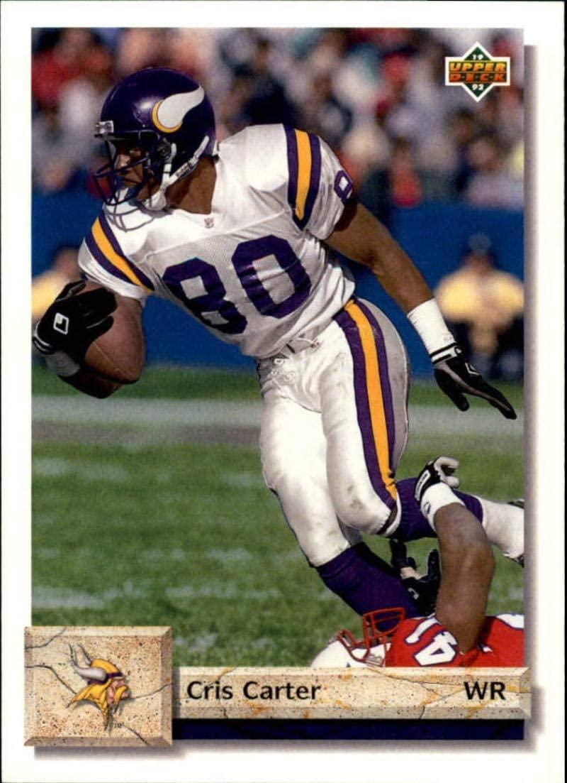 1992 Upper Deck #203 Cris Carter NM-MT Vikings