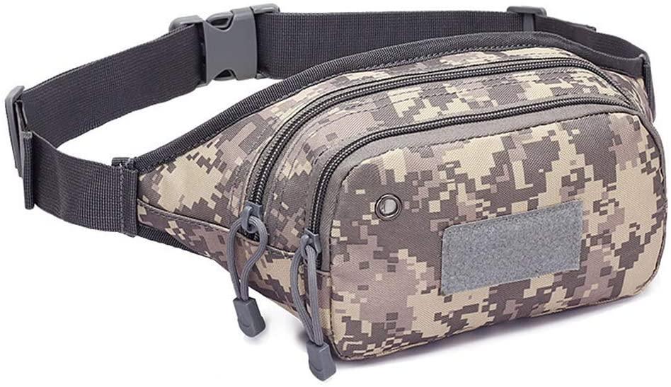 Sunny Outdoor Tactical Bag Assault Combat Waistpack Camouflage Tactical Molle Waist Pack