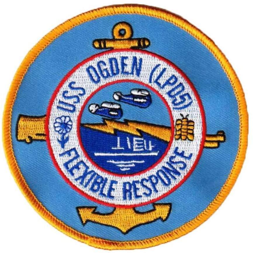 Squadron Nostalgia LLC USS Ogden LPD-5 Patch – Sew On