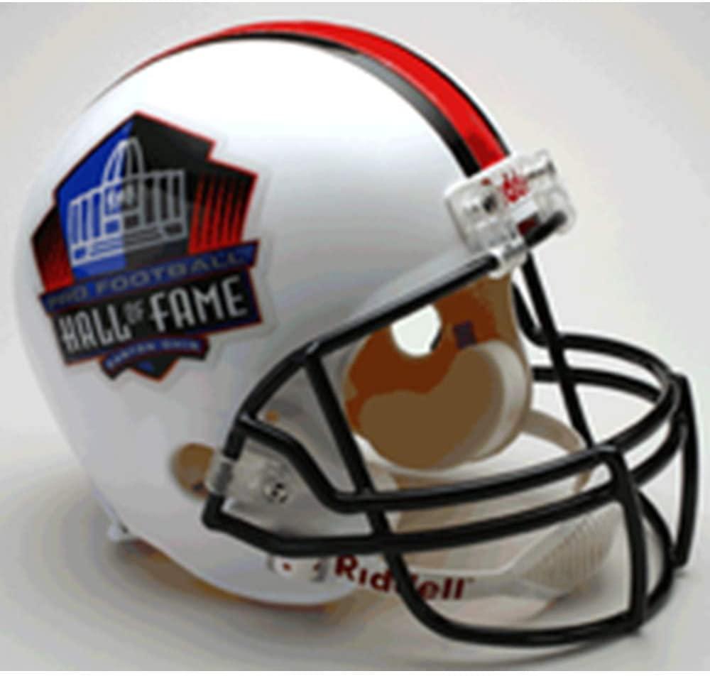 NFL Hall of Fame Replica Full Size Helmet, Medium, White