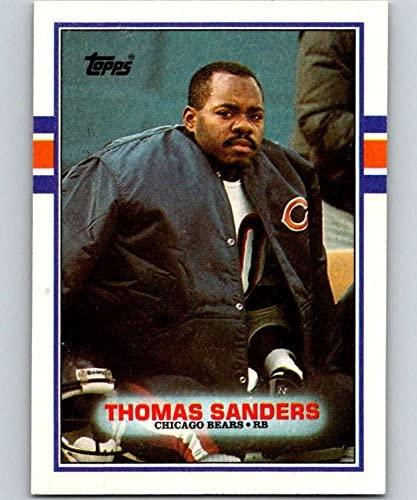 1989 Topps #68 Thomas Sanders RC Rookie Bears NFL Football