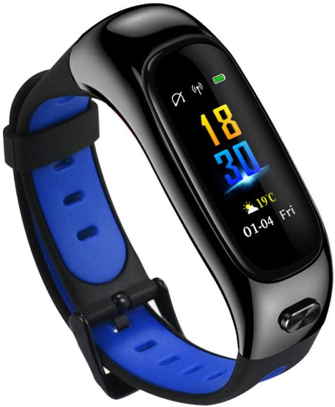 Fitness Tracker Smartwatches Bluetooth Combo Pedometer Blood Pressure Heart Rate Monitoring Message Push, Suitable for Android and iOS Systems