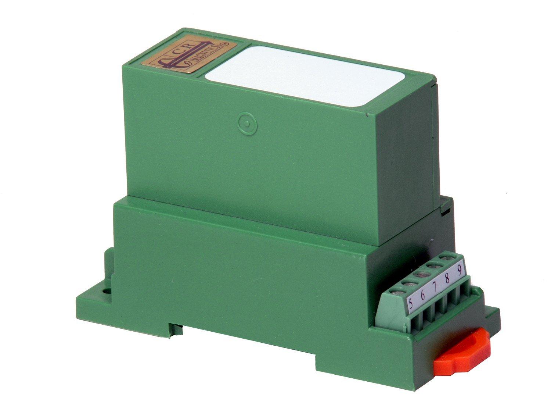 CR Magnetics CR4811-250 Average RMS AC Voltage Transducer with Single Element, 20 Hz - 5 KHz, >=2K  Output Load, 24 VDC +/-10%, 0 - 250 VAC Input Range, 0 - 10 VDC Output Range