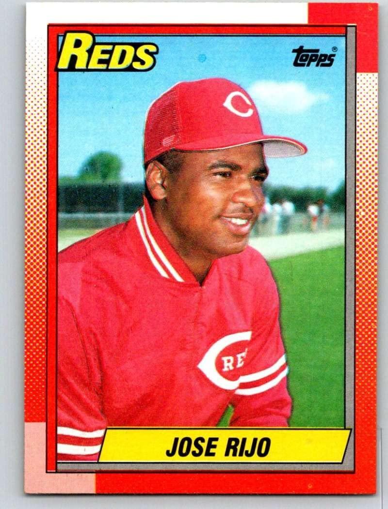 1990 Topps #627 Jose Rijo Mint Baseball MLB Reds