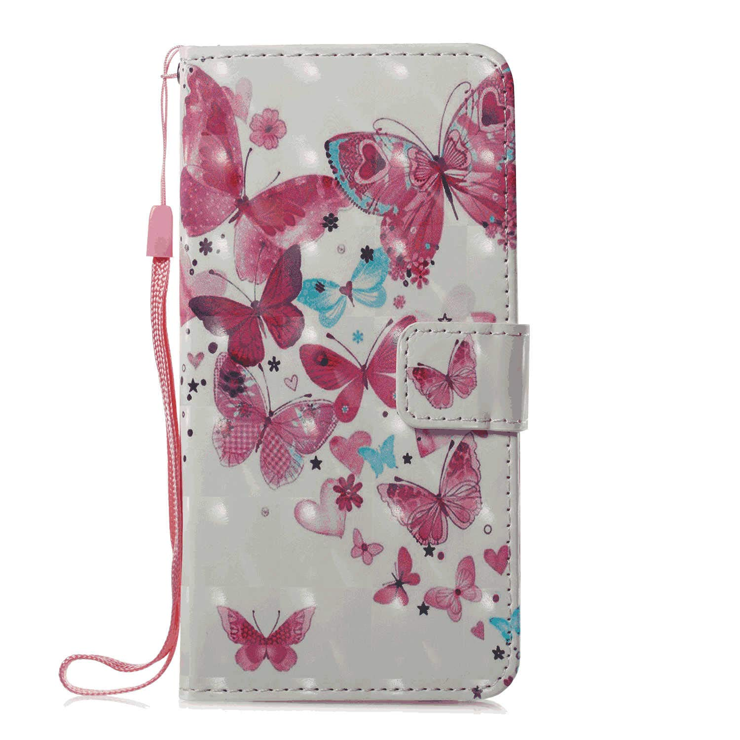 Flip Case for Samsung Galaxy S9, Leather Cover Business Gifts Wallet with Extra Waterproof Underwater Case