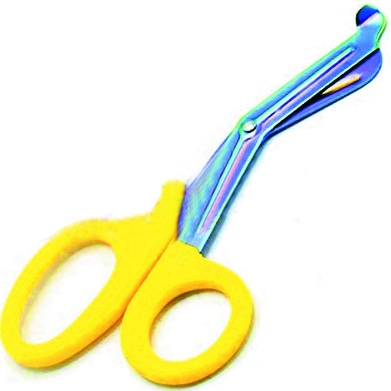 Precise Canada: Yellow Paramedic Utility Trauma EMT Bandage Shears Scissors 7.5