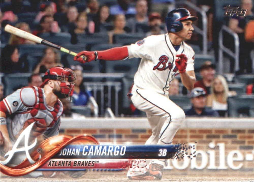 2018 Topps Baseball Series 2#525 Johan Camargo Atlanta Braves Official MLB Trading Card