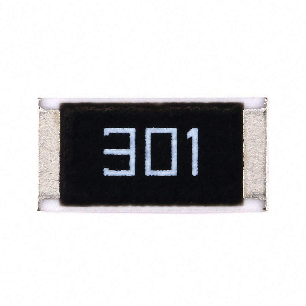 50 pcs 2512 Chip Resistor 1W 300 ohm 300R SMD Resistance 301 5% DIY Kit