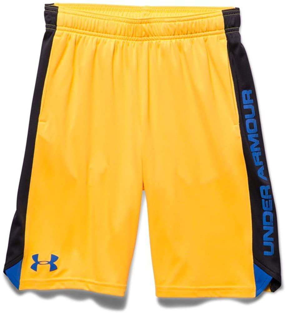 Under Armour Big Boys' UA Eliminator Shorts Youth X-Large YUZU ORANGE