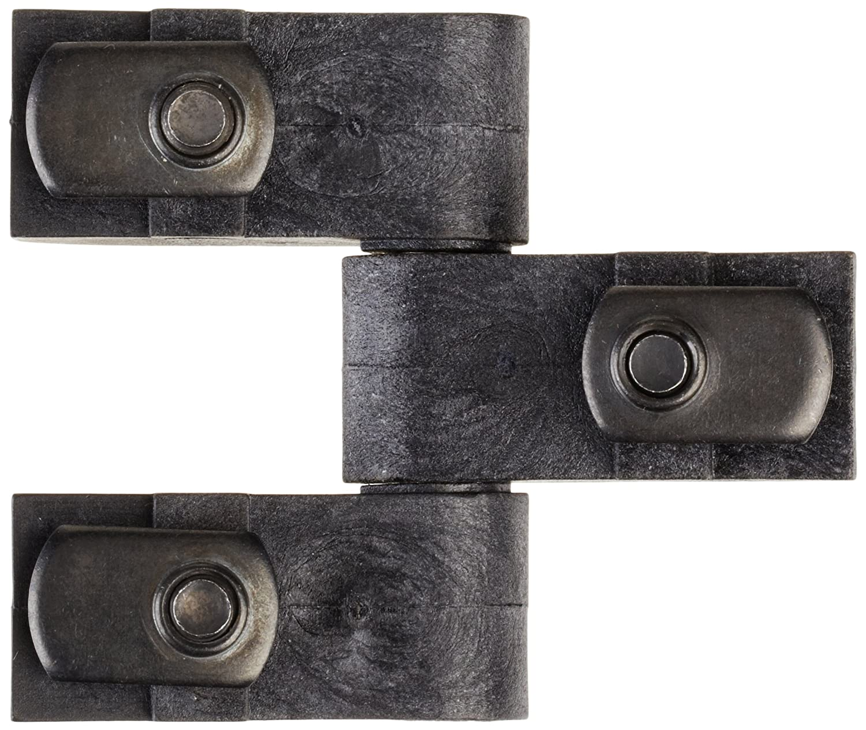 Faztek 15 Series Glass Filled Nylon Heavy Duty Lift-Off Hinge Assembly, Black