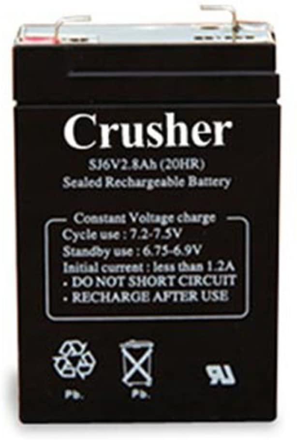 Heater Crusher 4 Hr Battery (CR25)