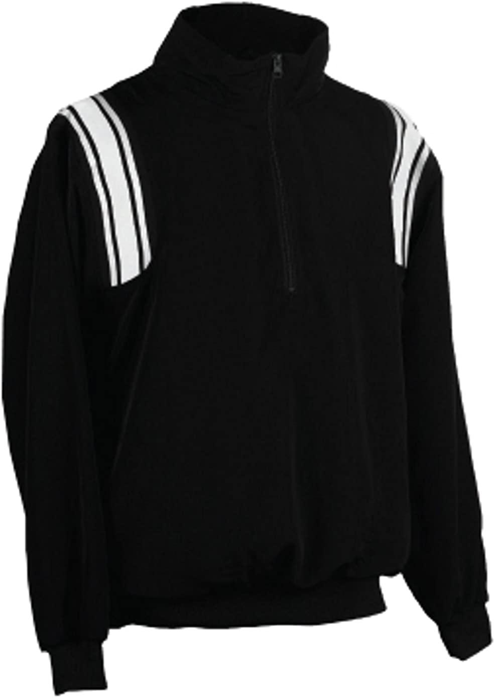 Smitty Black and White Umpire Jacket