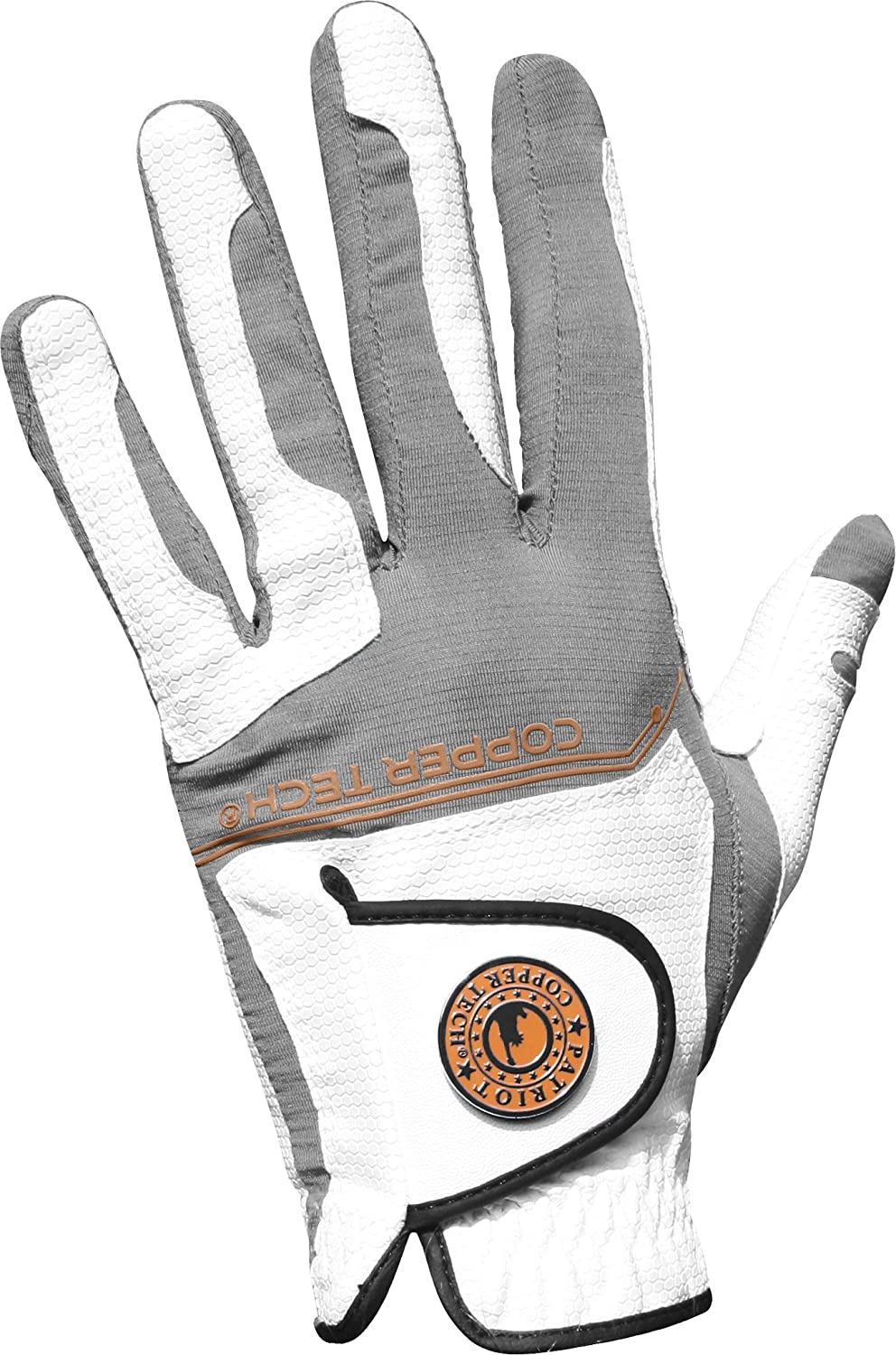 Copper Tech 2017 Form-Fit Mens Golf All Weather Glove Honeycomb Technology (Left Hand) One Size
