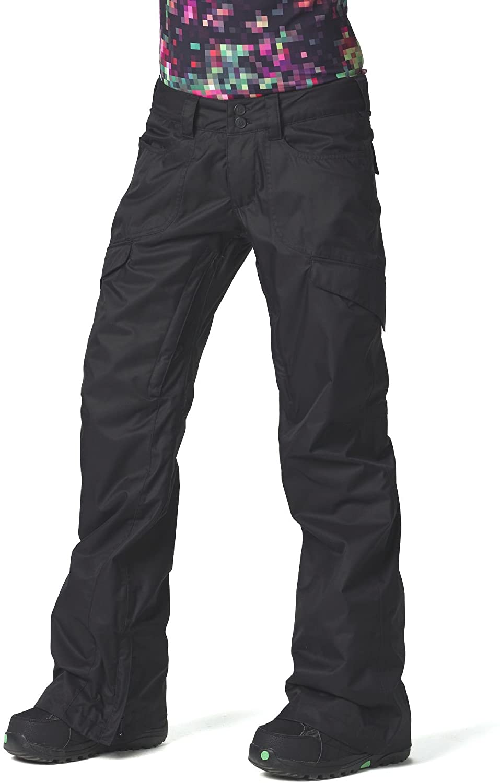 Burton Women's Lucky Ski Snowboard Pants True Black Size XL