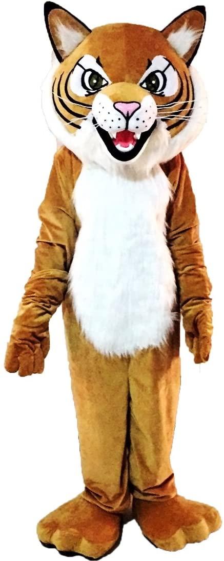 Tiger Wild Cat Mascot Costume Character