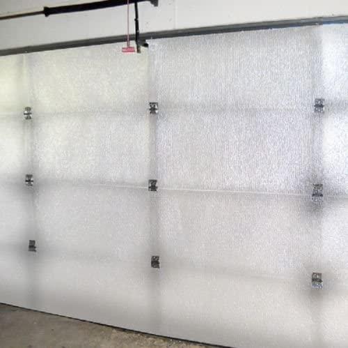 Supershield Reflective White Single Car Garage Door Insulation Foam Core Kit