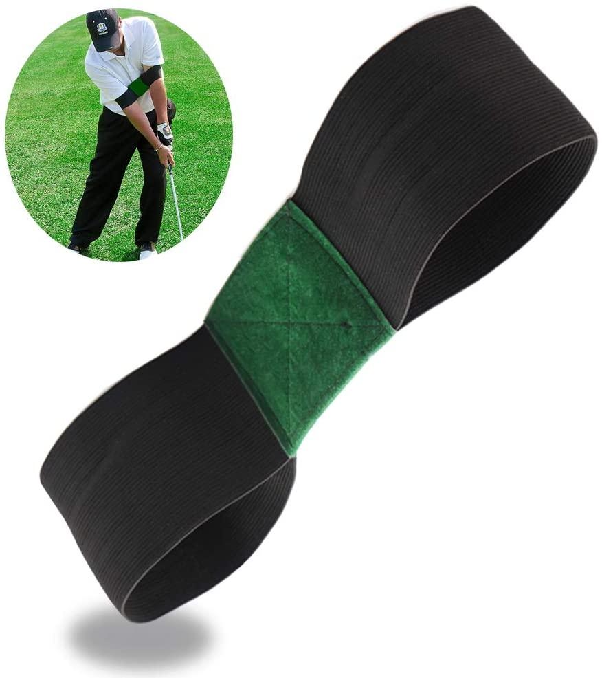 Sugelary Golf Training Aids,Golf Swing Trainer for Golf Beginner Swing Correction Posture Training Arm Band