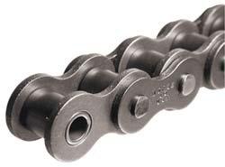 Morse 120R 10FT Standard Roller Chain, ANSI 120H, Riveted, 1 Strand, Steel, 1-1/2