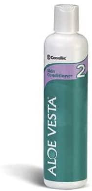 Aloe Vesta Hand and Body Moisturizer 8 oz. Bottle Unscented Lotion CHG Compatible, 324809 - Case of 48