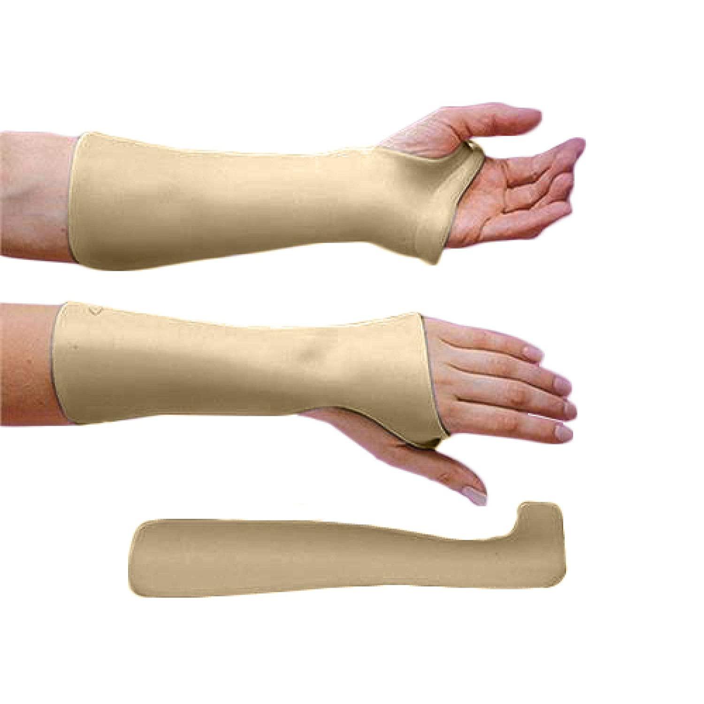 Rolyan Radial Bar Wrist Cock-Up Splint, Polyform - Solid 1/8