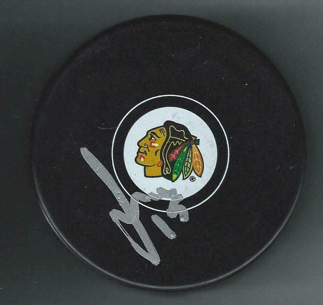 Sergei Samsonov Autographed Puck - Autographed NHL Pucks