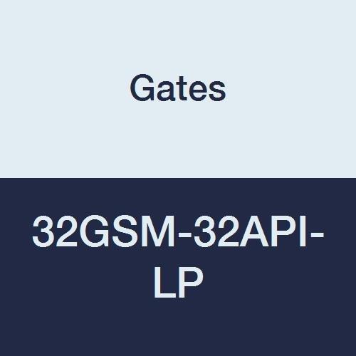 Gates 32GSM-32API-LP GlobalSpiral Series MAX Pressure Couplings, API Line Pipe Connection, 2