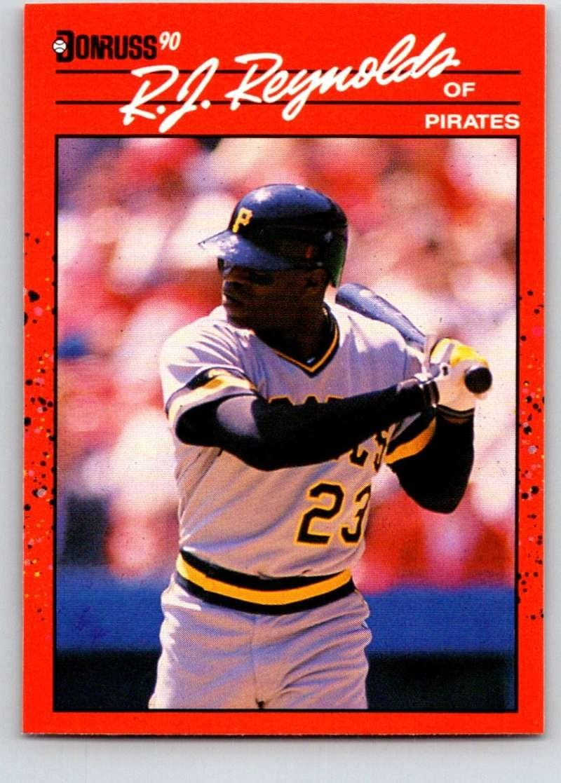 1990 Donruss #447 R.J. Reynolds Mint Baseball MLB Pirates