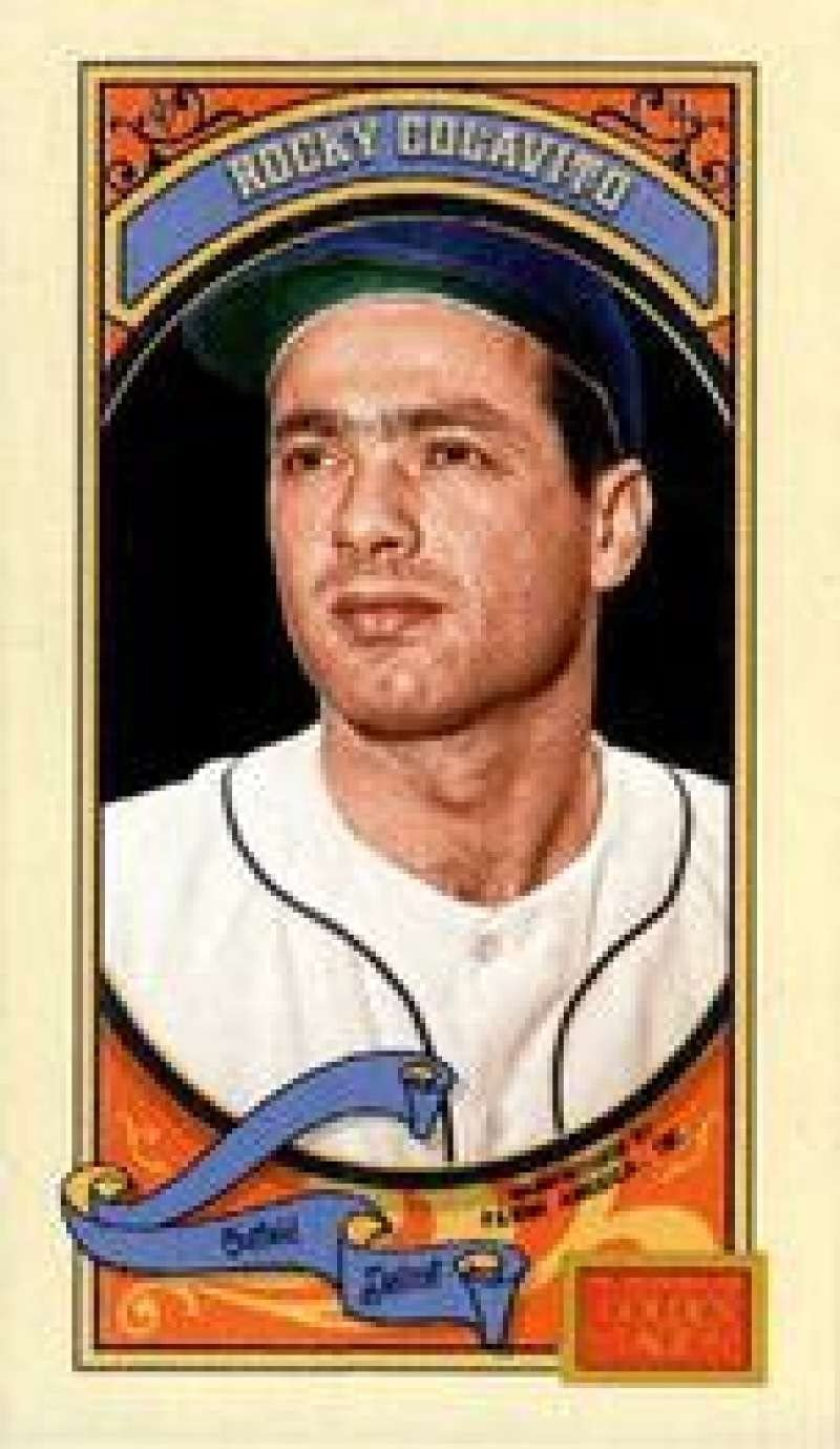 2014 Panini Golden Age Mini Parallel Hindu Red Back #81 Rocky Colavito NMMT Tigers