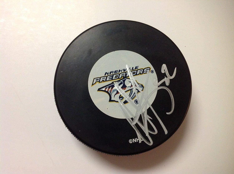 Autographed Matt Irwin Hockey Puck - b - Autographed NHL Pucks