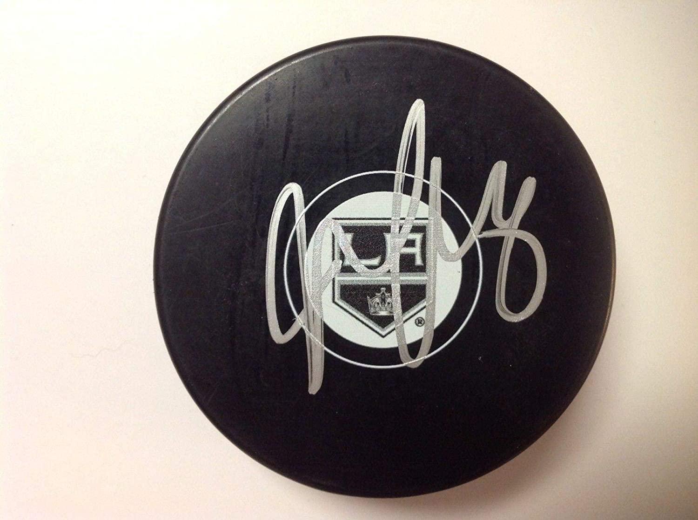 Signed Jake Muzzin Puck - LA a - Autographed NHL Pucks