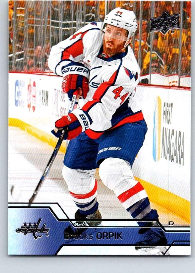 2016-17 Upper Deck #186 Brooks Orpik Mint Hockey NHL Capitals