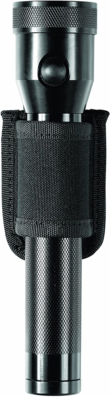 Bianchi Patroltek 8026 Black Open Top Compact Flashlight Holder