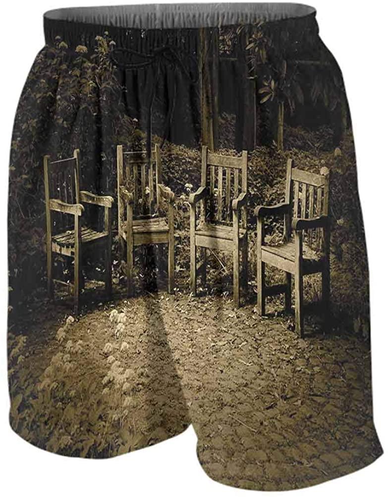 RenteriaDecor Sweat Shorts Hippie rain Pants