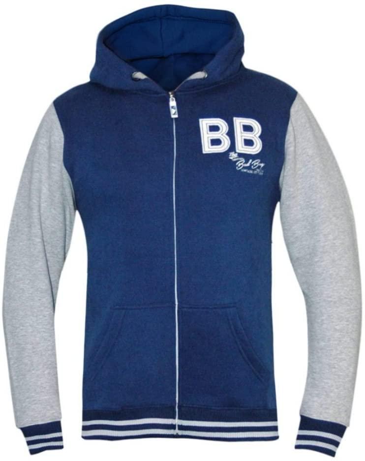 Bad Boy Varsity Hoodie - Blue/White