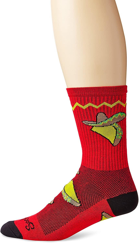 SockGuy Taco Tuesday 6in Sock