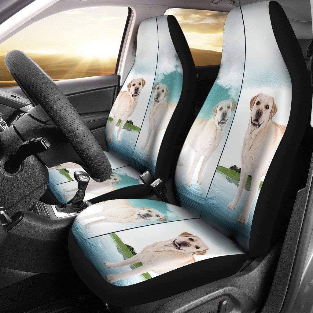 Pawlice Amazing Labrador Retriever Print Car Seat Covers