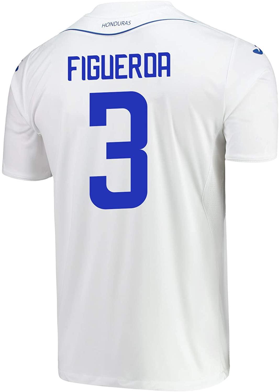 Joma Figueroa #3 Honduras Home Soccer Youth Jersey 2019-20